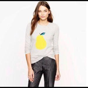 J. Crew Pear Sweater